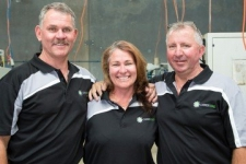 The Directors of Carbide Tools- Bruce, Jan and Garry.