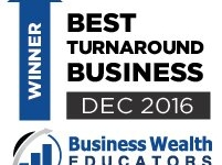 Best Turnaround Business - Winners!