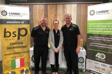 Garry, Bruce and Sarah at the 2019 ASOFIA Shop fitters Trade Show